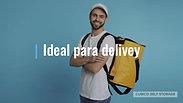Guarda-volumes: ideal para delivey