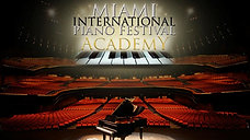 Julia's performance on Miami International Piano Festival