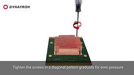 How to install Dynatron Cooler on intel® Socket LGA1700