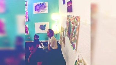 Atelier Baby art avec Adryades-Chloé Fourestier