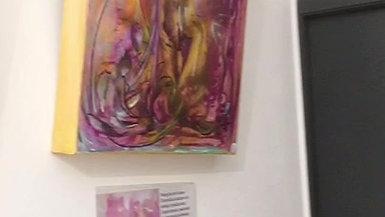 Expo De Crist'In-Peinture vibratoire du 1er août au 31 octobre