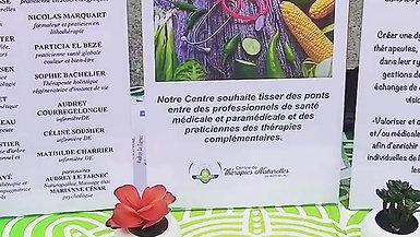 Stand du Centre De Thérapies Naturelles