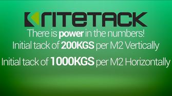 Ritetack - instant grab construction adhesive