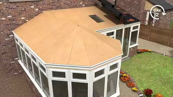 Guardian Warm Roof System - YouTube