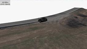 BMW som ruller Eksempel 2