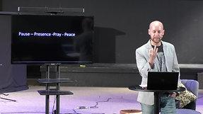 Pause Presence pray peace