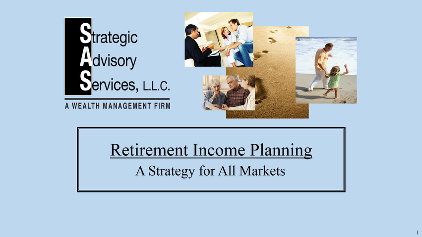 Retirement Income Planning Process