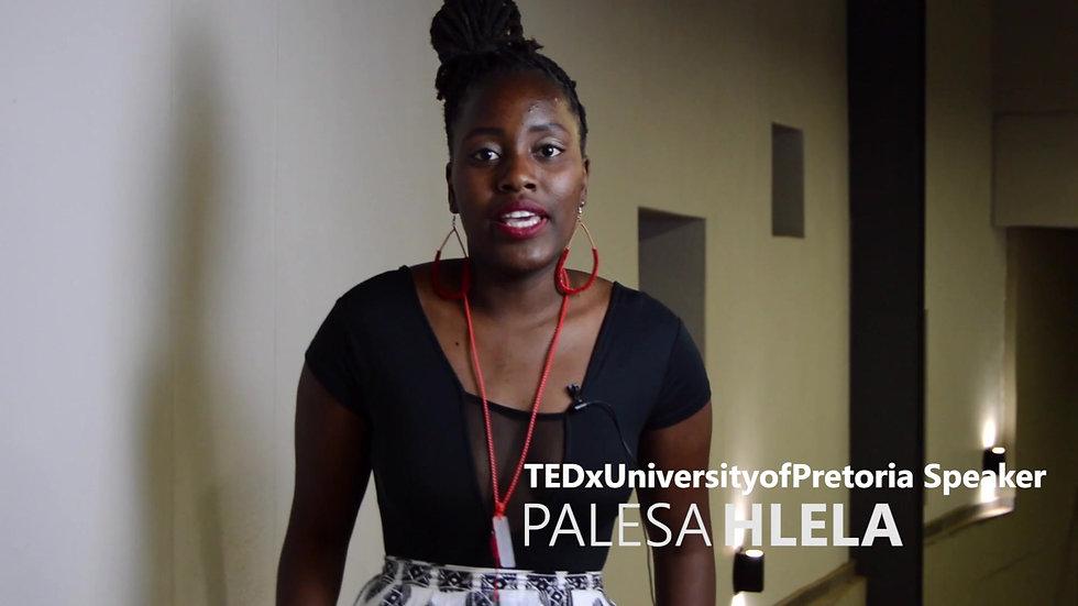 Palesa Hlela Post Talk Interview || Chasing Change || 13.09.2019