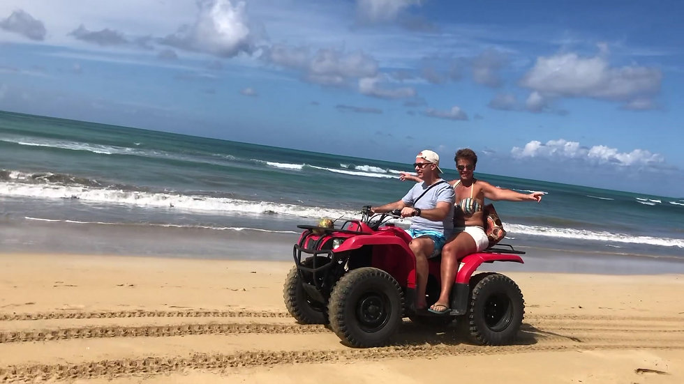 VIDEO QUAD PLAYA COSON