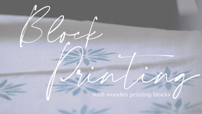 How-To Wooden Block Printing