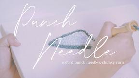 DIY Oxford Punch Needle Kit - Snippet