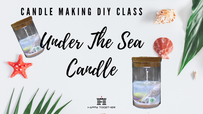 Under the Sea Candle DIY