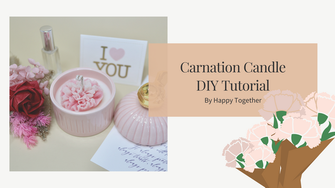 Carnation Candle DIY