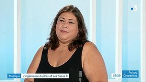 17/06/2020 - Audrey au JT de France 3