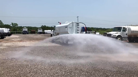 Water Truck Spraying