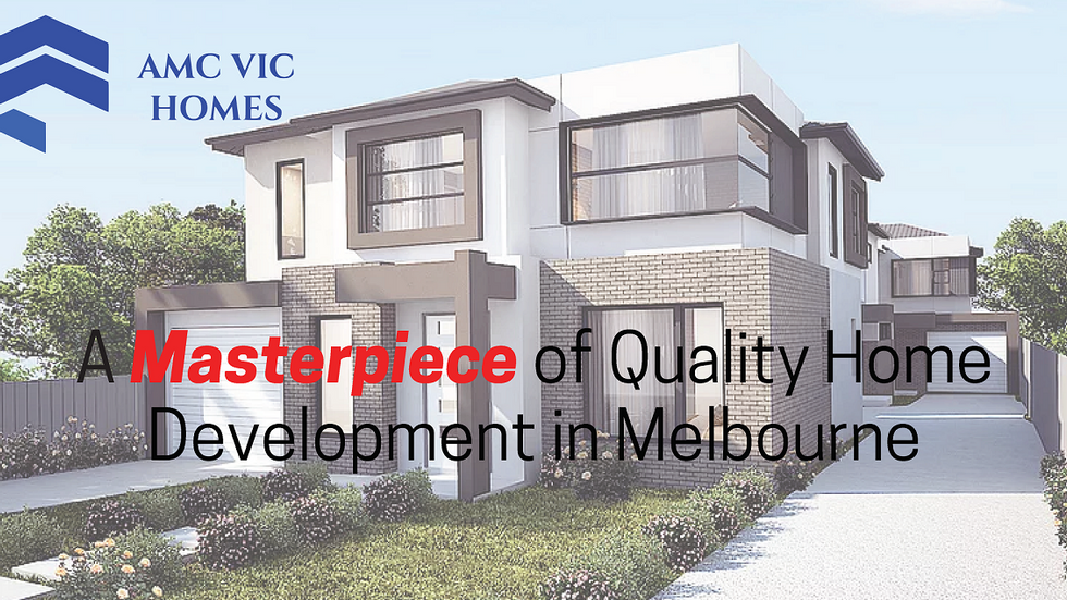 AMC VIC HOMES Display House