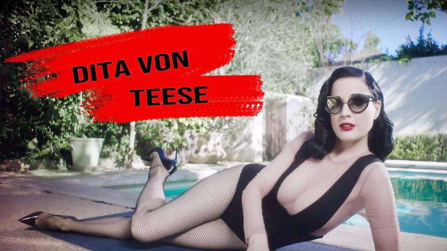 Fashion icon Dita Von Teese shares her morning routine