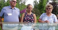 Jim Blashill, Erin Peacock, Rosemary Blashill