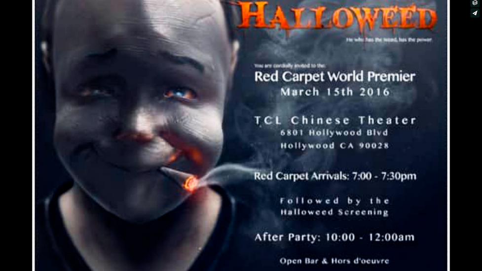 """Halloweed"" Theatrical release"