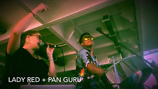 Pan Guru + Lady Red Perform on the Carnival Liberty