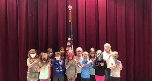 Pledge of Allegiance- 1st/2nd Grade