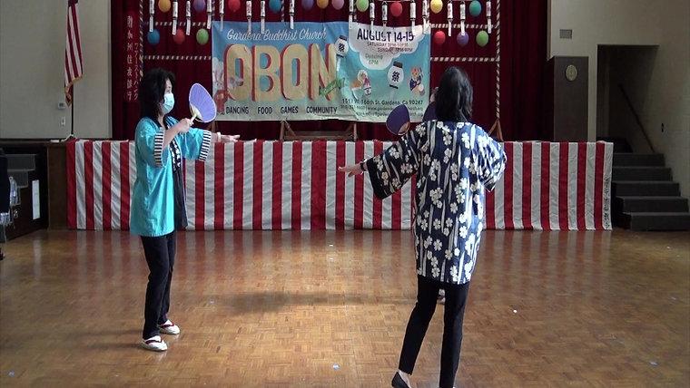 Practice Obon Dances