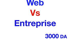 Application Web Vs Application Entreprise