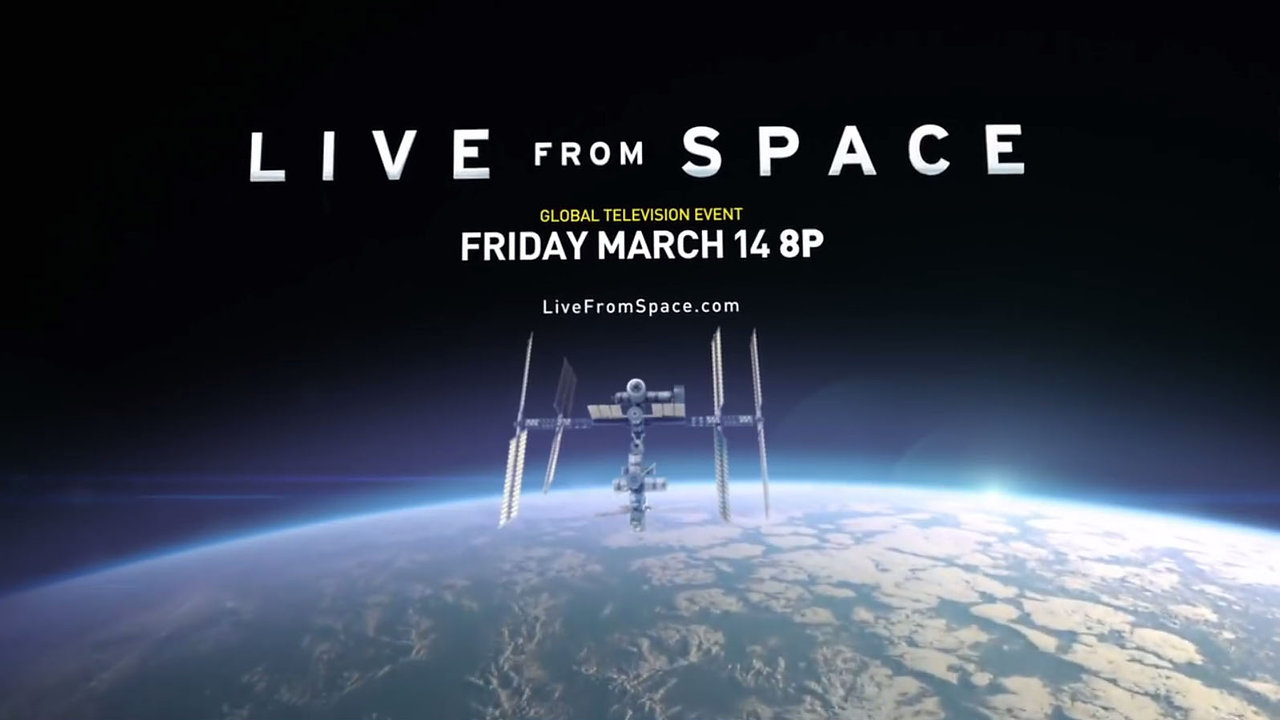 Live from Space - Nat Geo, Channel 4