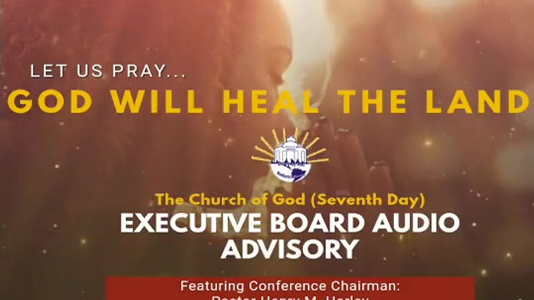 A message from Pastor H.M. Harley - Conference Chairman PT2