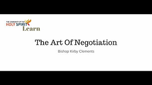 TCHOS learn the art of negotiation