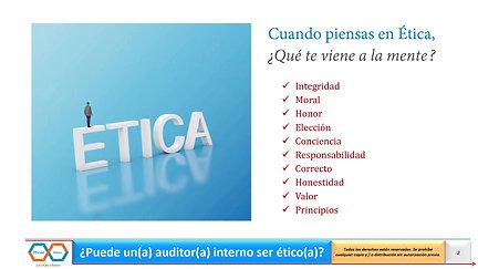 Auditor Etico (Vistazo)
