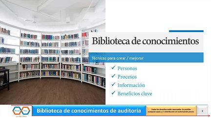 Biblioteca de Conocimiento de Auditoría