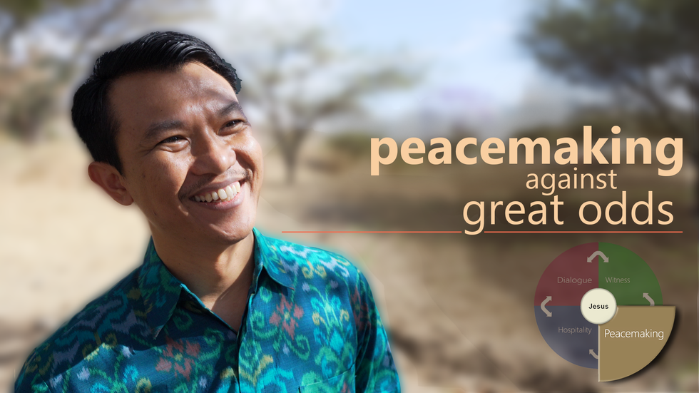 Peacemaking against great odds