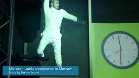 Музыка для презентации Microsoft Lumia в Москве