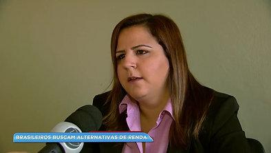Brasileiros buscam alternativas para fugirem do desemprego