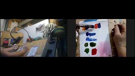 Acrylic Painting Basics - US session