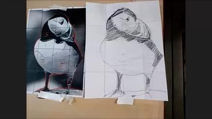 Beginning Art - Draw a Bird