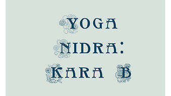 Yoga Nidra With Kara