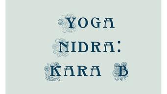 Yoga Nidra With Kara