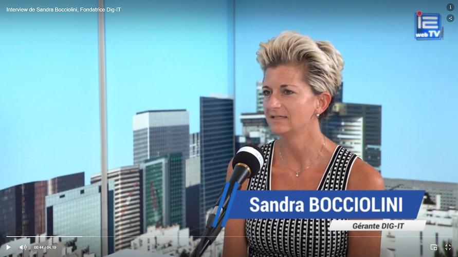 Interview de Sandra Bocciolini *   Fondatrice et Gérante de Dig-IT