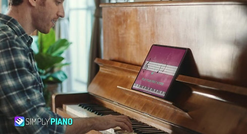 simply piano app voice over