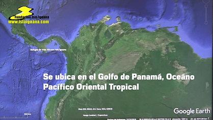 Localización Isla Iguana