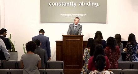 Bible Class and Worship Service