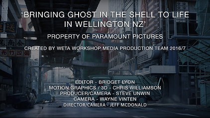Ghost in the Shell (2017) - Urban Story