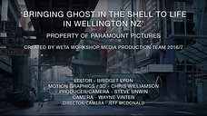 Bringing Ghost in the Shell To Life In Wellington NZ