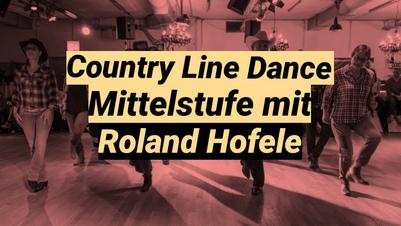 Country Line Dance Mittelstufe mit Roland Hofele