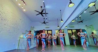 Belly Dance Fusion Video 肚皮舞混合风舞蹈课程