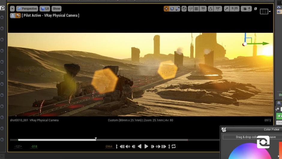 Unreal Engine Timelapse