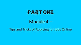 4. Tips & Tricks of Applying Jobs Online