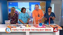Kecia and Jason-what to do with the children and yourself during the holiday's